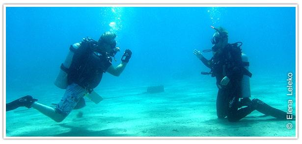 Курс дайвинга PADI Scuba Diver
